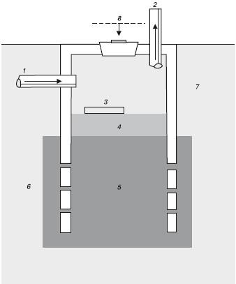 Схема устройства фильтрующего